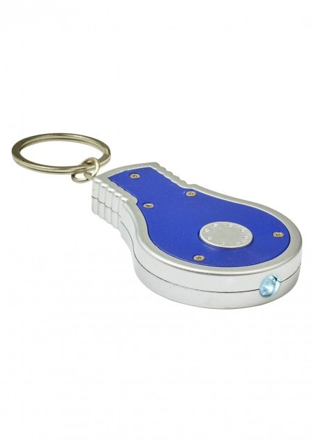 LED-Schlüsselanhänger in Glühbirnen-Form