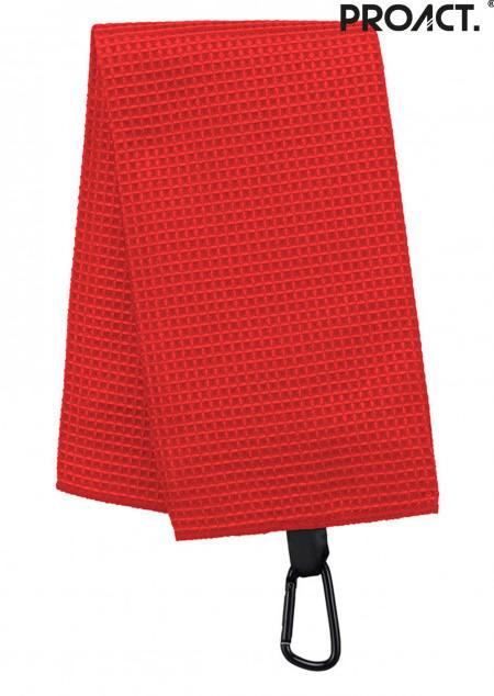 Golf-Handtuch mit Wabenstruktur