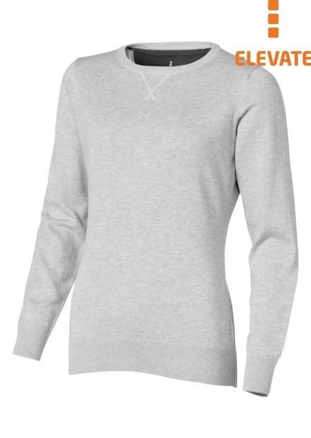 Damen Pullover mit Runhals Fernie