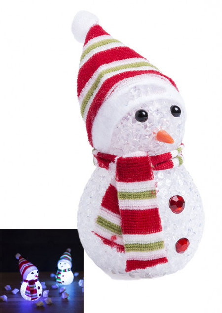 Leuchtender Schneemann