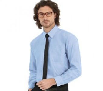 Hemden Langarm aus Mischgewebe