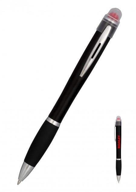 Nash Kugelschreiber mit farbig aufleuchtendem Gehäuse