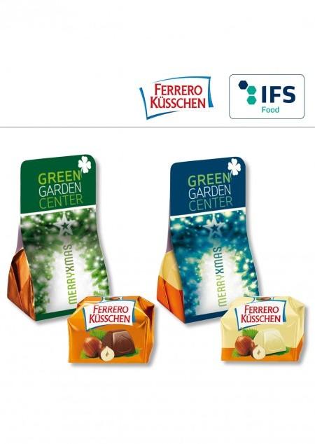 1er Ferrero Küsschen in Werbetäschchen