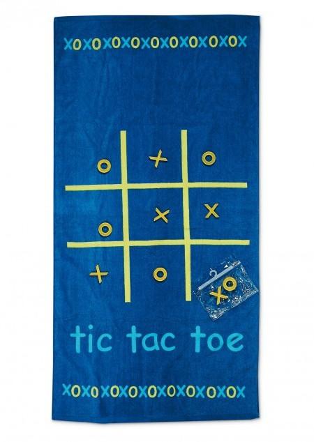 Strandtuch Tic Tac Toe