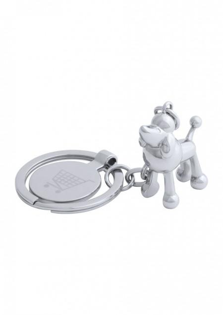 Schlüsselanhänger mit EK-Chip und Glücksschwein