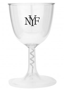 Fiesta Weinglas mit Korkenzieher