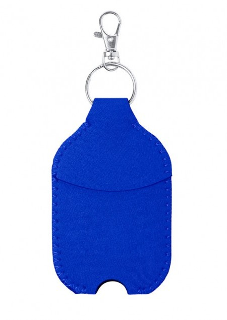 Schlüsseanhänger mit Etui für Gelfläschchen