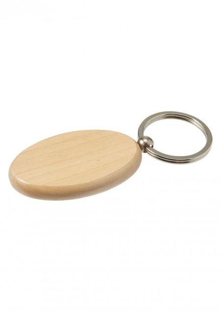 Schlüsselanhänger 'Woody' aus Holz