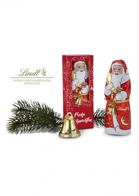 Lindt-Santa Frohe Weihnachten