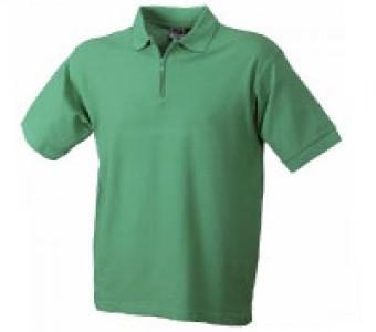 Polos Basics & Herren mit Zipper