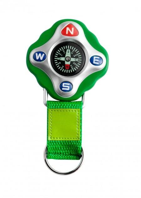 Kompass 'Tour' aus Kunststoff mit Schlüsselkette