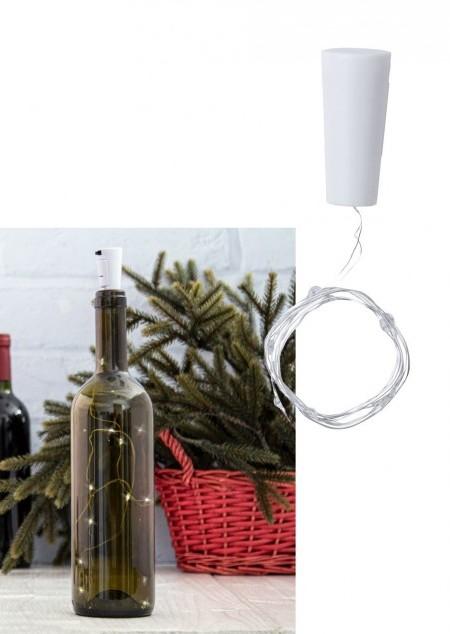 Weinflaschen-Licht