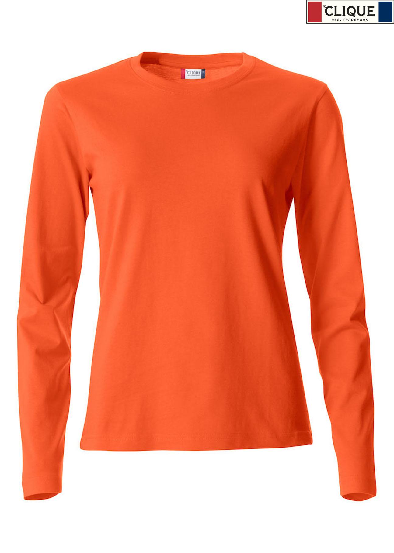 buy cheap 7bef0 178db Clique, Basic Langarm T-Shirt, günstig bedrucken « Merkur ...