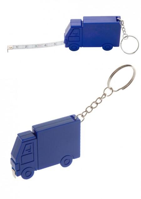 LKW-Schlüsselanhänger mit Maßband, 1 Meter