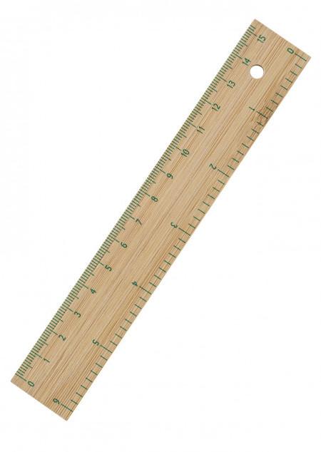 Lineal 'Elle' aus Bambus