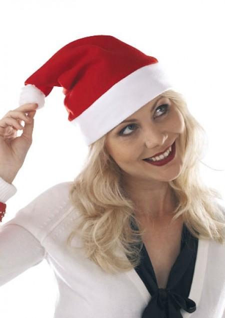 Weihnachtsmann-Mütze