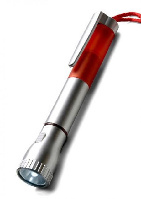 LED-Lampe '2in1' aus Kunststoff