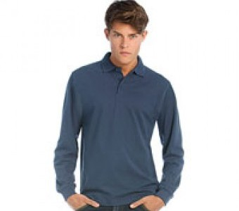 Polo-Shirts Basics & Herren Langarm