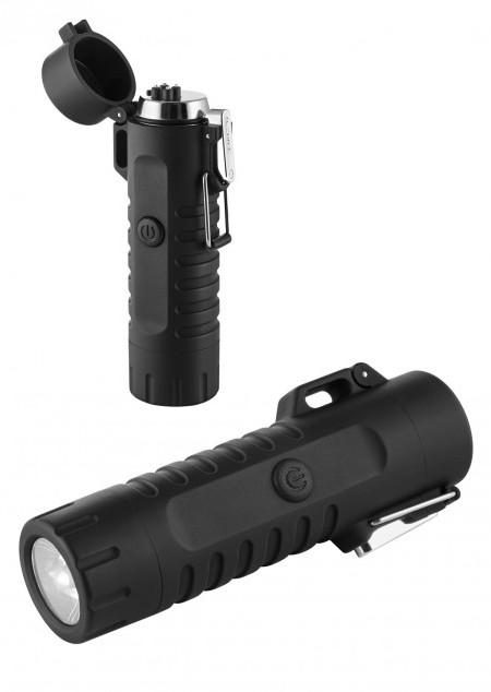 Metmaxx® Lichtbogen-Feuerzeug mit LED-Leuchte
