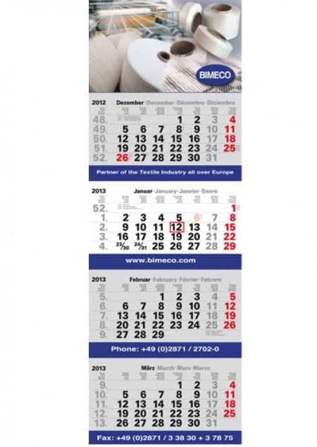 4-Monatsplaner Plus Eins Post