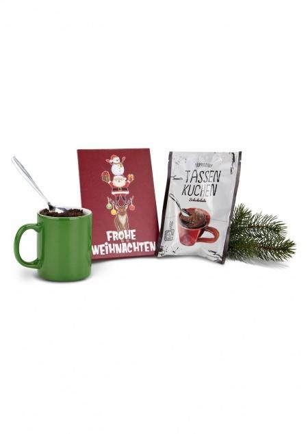 Tassenkuchen Frohe Weihnachten