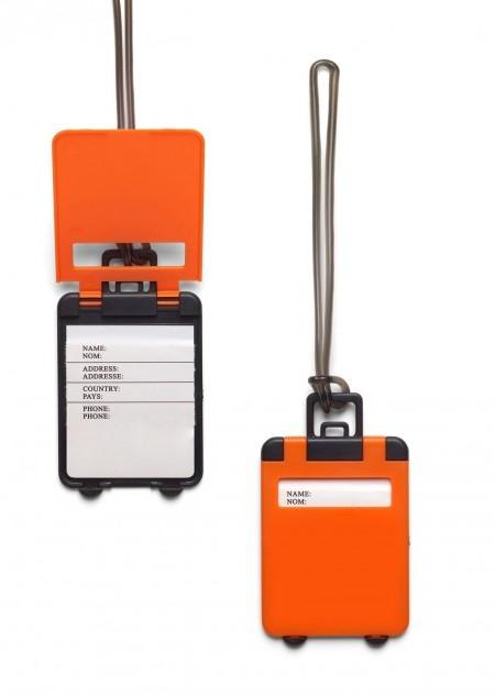 Kofferanhänger 'Gate' aus Kunststoff