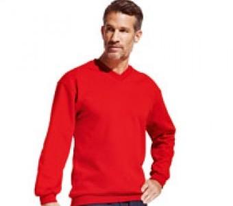 Sweatshirts Basic & Herren mit V-Neck