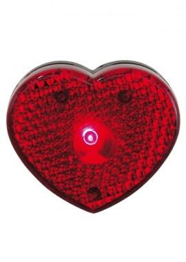 Sicherheits-Blinklicht Herz