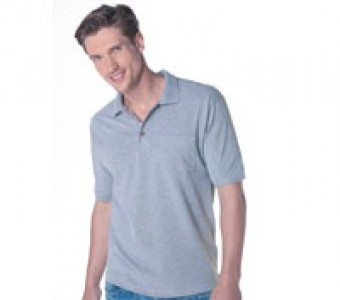 Polo-Shirts Basics & Herren mit Brusttasche