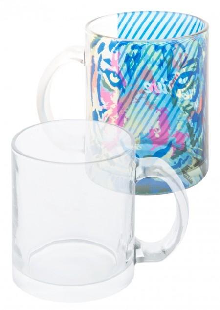 Glas-Tasse inklusive Sublimationsdruck