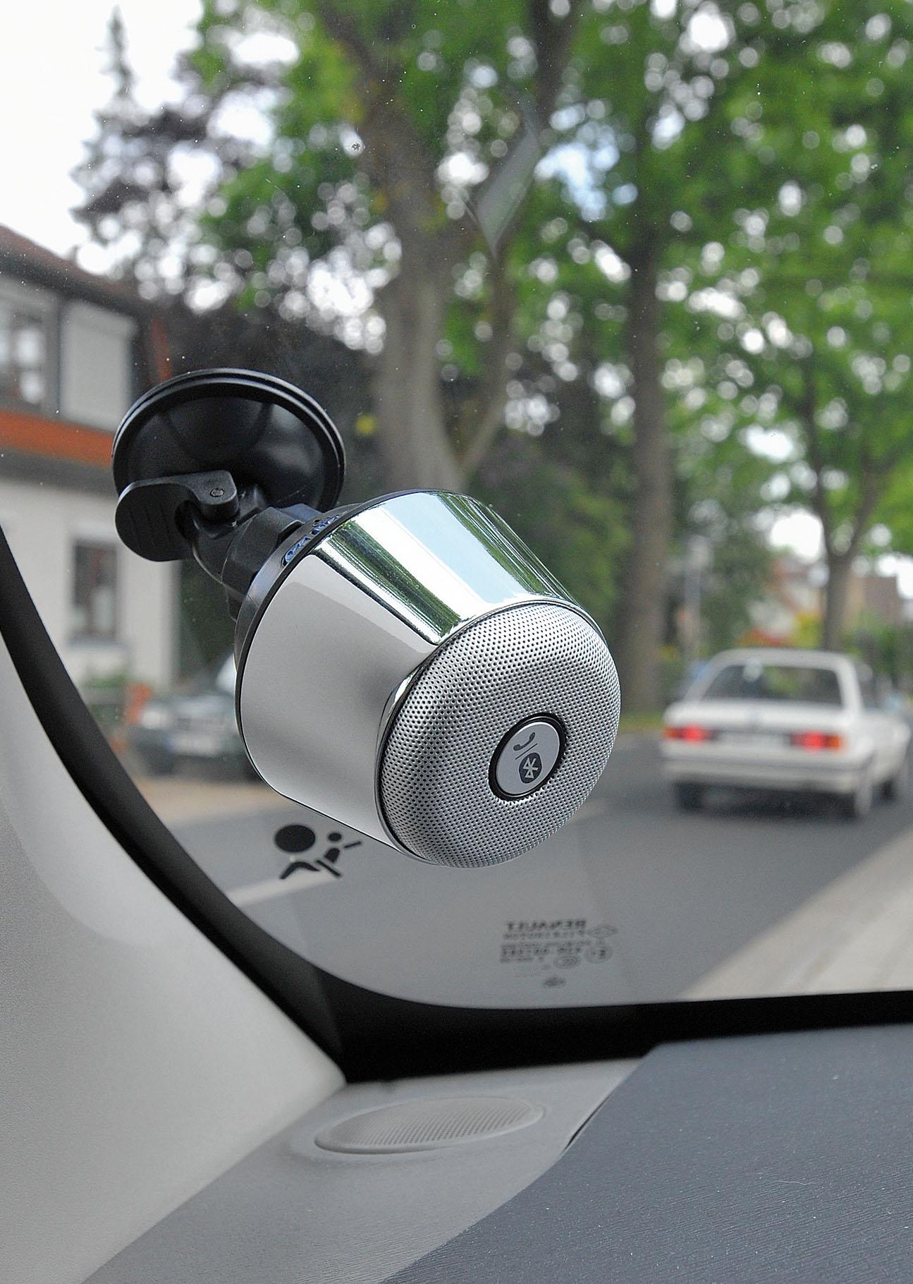 """Bluetooth Lautsprecher """"MUSH"""" fürs Auto « Merkur Werbemittel"""
