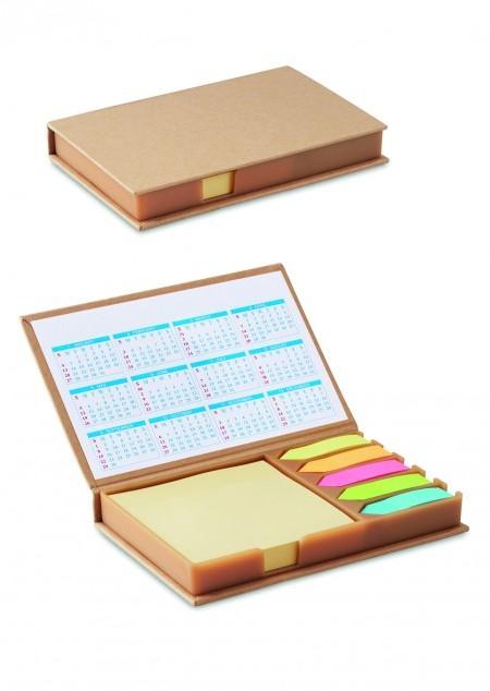 Haftnotizen mit Kalender