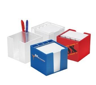 Zettelboxen mit Köcher