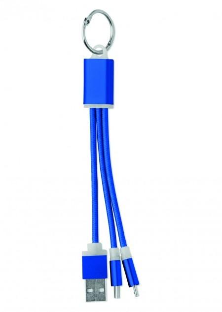 Schlüsselring mit Kabel-Set