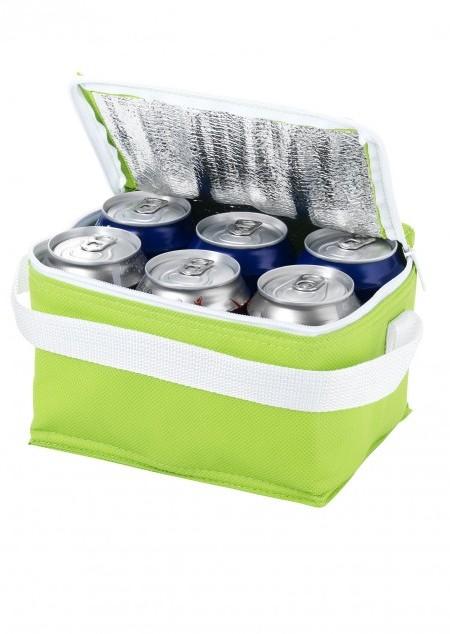 Kühltasche für 6 Dosen Spectrum