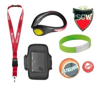 Lanyards, Armbänder & Pins