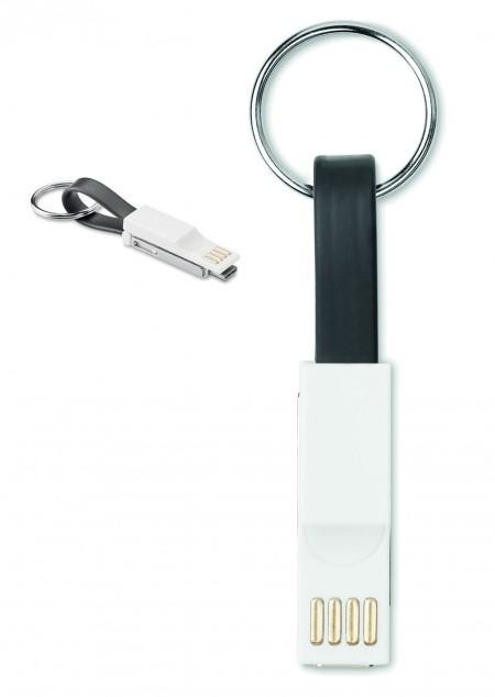 Schlüsselring mit Ladekabel