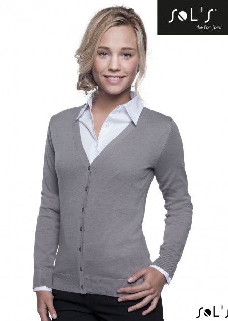 Womens V-Neck Cardigan