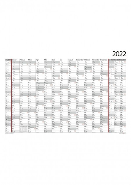 Plakat-Wandkalender 16 Monate