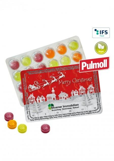 Kleinster Adventskalender mit Pulmoll Hustenbonbons
