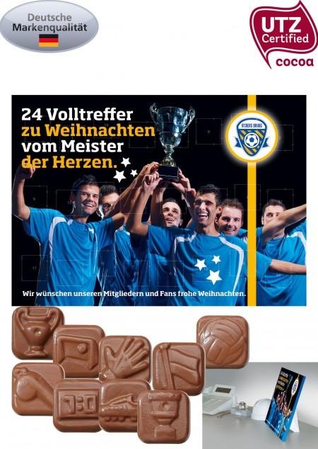 Fußball Schoko-Adventskalender