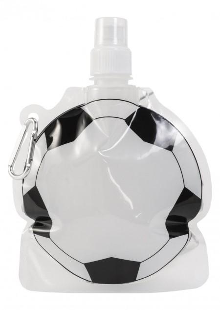 Faltbare Faltflasche Fußball, 500 ml