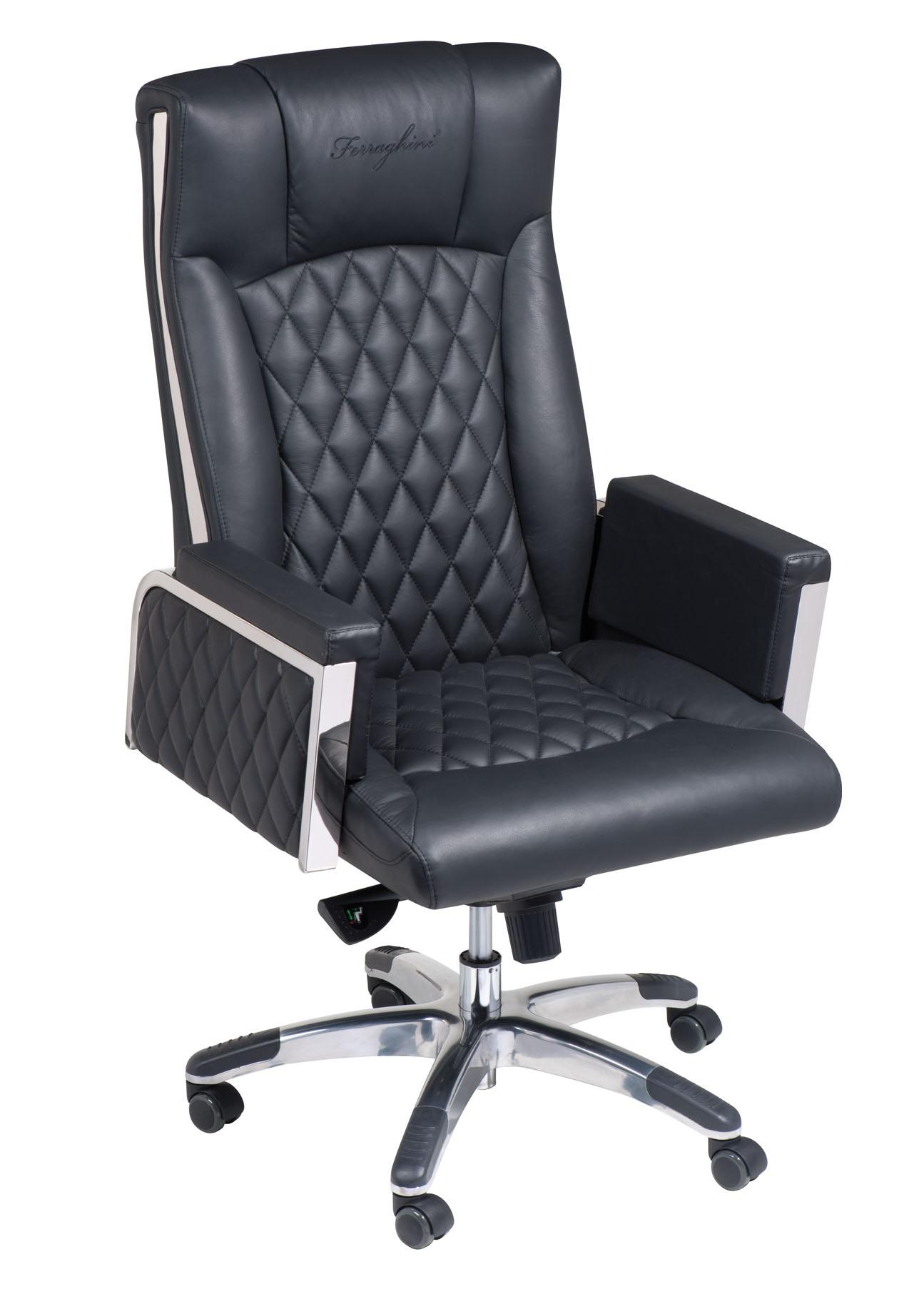 Luxus bürostuhl  Ferraghini® Luxus-Bürostuhl « Merkur Werbemittel