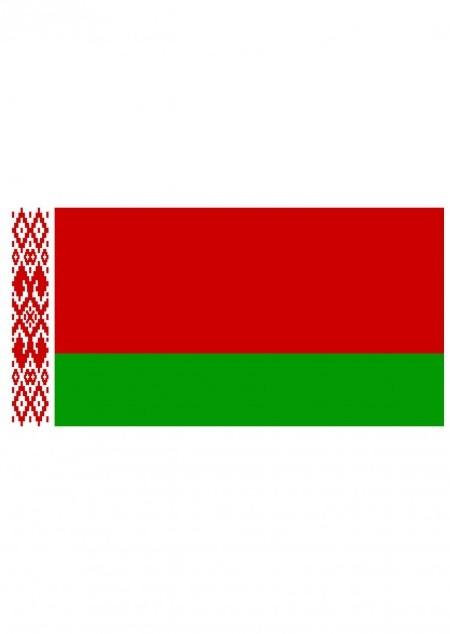 Fahne Weißrussland