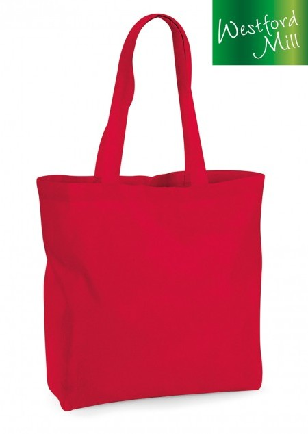 Organic Premium Cotton Maxi Tasche