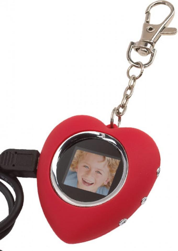 Digitaler Bilderrahmen Herz « Merkur Werbemittel