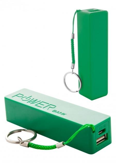Powerbank mit Schlüsselanhänger, 2.000 mAh