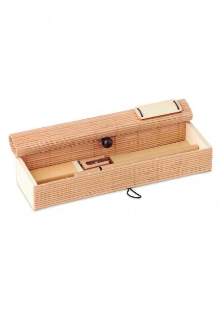 Bambus Schreib-Set