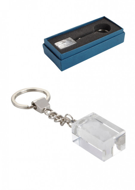 Glas-Schlüsselanhänger