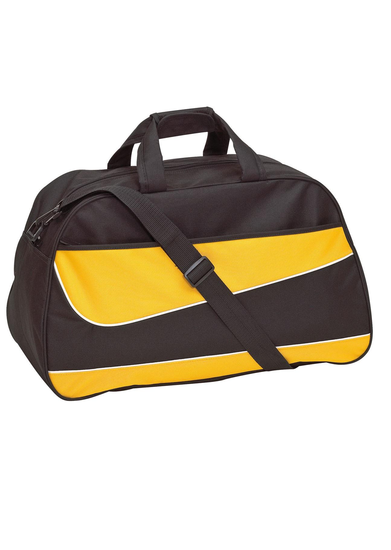 eee55a15cd24a 56-0808515 Sporttasche Pep schwarz gelb